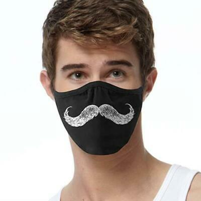 Mustache FACE MASK Cover Your Face Masks