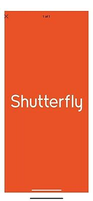 Shutterfly 5x8 Notebook Code Exp 6/30/2020