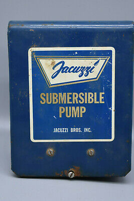 "Jacuzzi Submersible Pump, Jacuzzi Bros, Untested.   6"" x 7 1/2"" - Preowned"