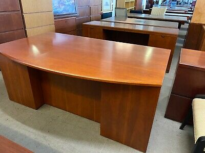 EXECUTIVE SET DESK & CREDENZA by OFS OFFICE FURNITURE in CHERRY WOOD