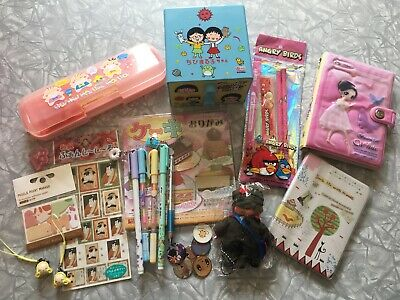 Lot of 23 Japan Themed Junk Drawer Mixed Lot Stationary Miscellaneous Asian