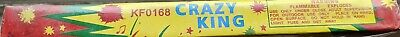 Rare Crazy King Big Report Fireworks Collectible Firecrackers Labels 20 PC