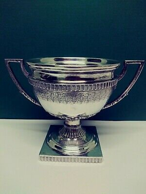 800 Silver Loving Cup Tropy Excellent Beautiful Design Over 13 oucnes