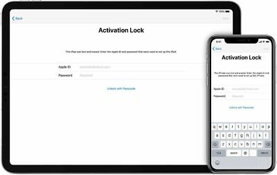 iCloud Activation Lock Bypass Removal Service IPAD  A9/A9X/A10/A10X