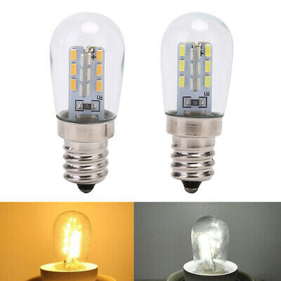 LED Light Bulb E12 Glass Shade Lamp Lighting For Sewing Machine Refrigerator_me