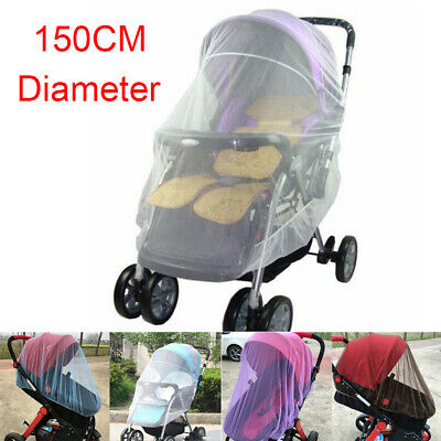 Baby Infant Stroller Pushchair Pram Mosquito Fly Insect Net Mesh Buggy Cover Net