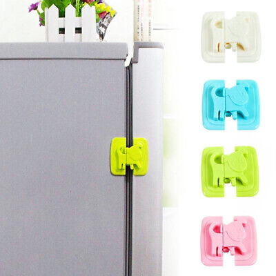 Baby Safety Lock Cartoon Dog Puppy Shape Refrigerator Toilet Safety Lock Padlock