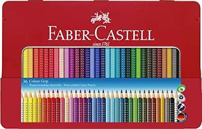 Faber-Castell Tin of 36 Colour GRIP 2001 pencils