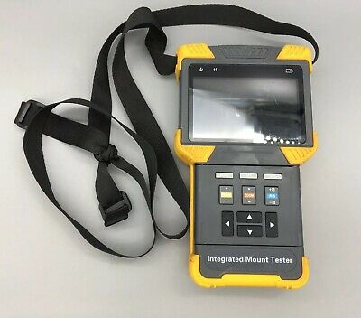 """IC Realtime ITM-9000 CCTV Onvif And Hd AVS-Multi Function Test Tool With 4"""" G44"""
