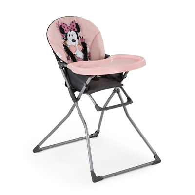 NEW Hauck Disney MacBaby Minnie Sweetheart Pink Babyfeeding Highchair