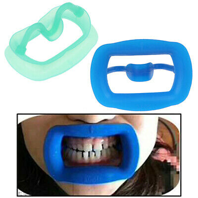 Silicone Oral Dental OrthodonticTooth Intraoral Lip Cheek Retractor Mouth  HV