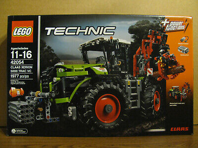 Lego 42054 Technic 2in1 CLAAS XERION 5000 TRAC VC, Silage Plow & Crane Arm Compl