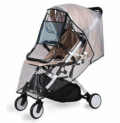 Bemece Universal Rain Cover for Pushchair Stroller Buggy Pram, Baby Travel
