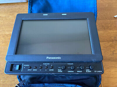 "Panasonic BT-LH80WP 7.9"" Multi-Format Color LCD  - w/ case"