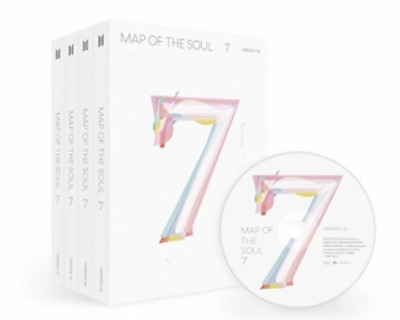 BTS BANGTAN BOYS - MAP OF THE SOUL : 7 SET + Tracking
