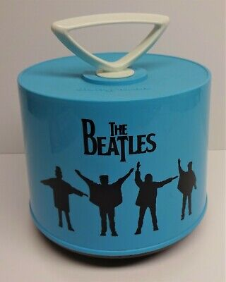 Beatles 45 Rpm Disk-Go-Case Record Tote Carrier Carrying Storage Charter Ind.