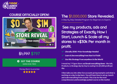Charlie Brandt - $100K Academy - The $1,000,000 Store Revealed Value: $797.00