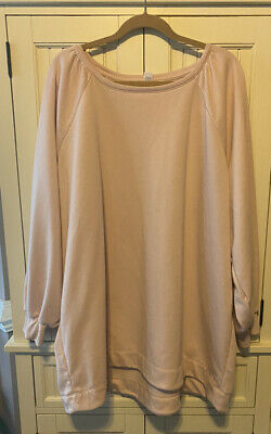 Old Navy Womens Pale Pink Sweatshirt Size 4X NWT
