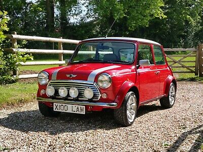 Classic Mini Cooper Sport On Just 1950 Miles From New