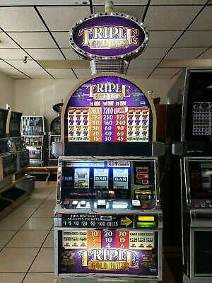 Triple Gold Bars  Igt Slot Machine  Fun For Your Home