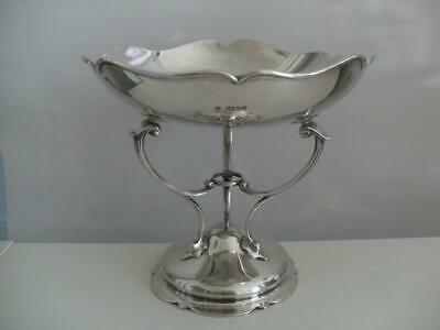 SUPERB STERLING SILVER TAZZA DISH Sheffield 1905 508g
