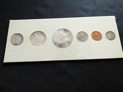 1959 Royal Canadian Mint Uncirculated Silver Proof-Like PL Set - SOME SILVER!
