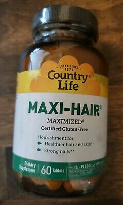 Maxi Hair 60 Tabs by Country Life 5/19