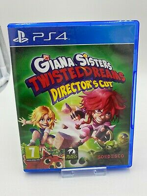 Giana Sisters : Twisted Dreams Sony PlayStation 4 PS4 VGC