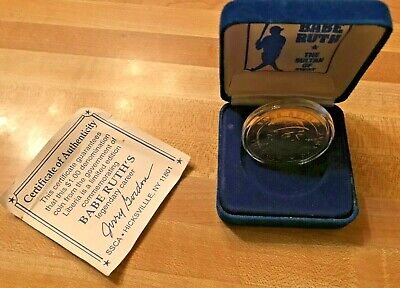 1994 The Sultan of Swat Babe Ruth Republic of Liberia collectable $1 Coin