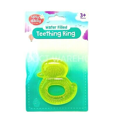Baby Duck - teething water filled teether ring soothe gums 3+ months