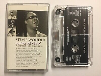 Stevie Wonder : 'Song Review' Album - Cassette