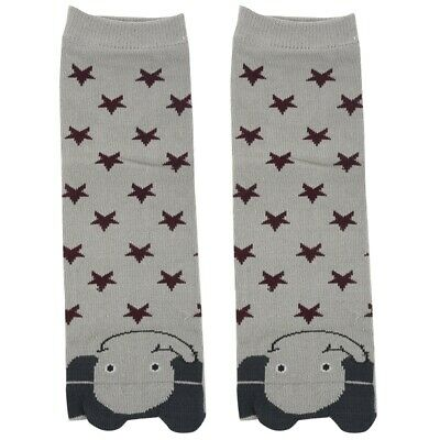 10X(1 Pair Cartoon Soft Cotton Baby Kids Winter Leg Warmers Socks Child Kne I1P2