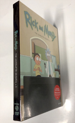 Rick And Morty - The Complete TV Series Season 1-3 (DVD, Box Set) And Sealed
