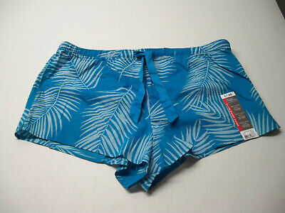 3 NEW Teal Shorts - Secret Treasures Pajama Lounge Shorts  NWT size M (8-10)