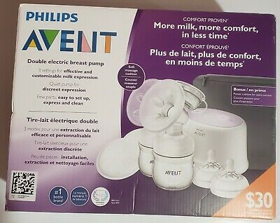 Brand New Philips Avent Double Electric Breast Pump - Comfort Proven
