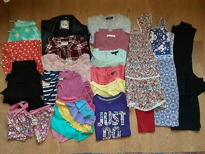 Girls Clothes Bundle Age 8/9yrs Good Condition