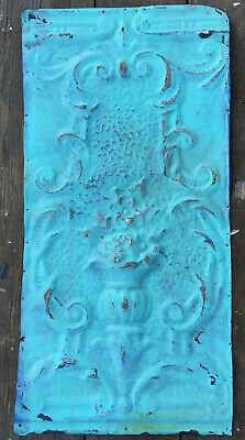 Vintage Ceiling Tin for crafts ptach work home decor TIN3