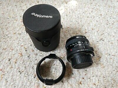 Sigma Super-Wide II Macro Camera Lens, ⌀52, f=24mm, F/2.8-22, multi-coated