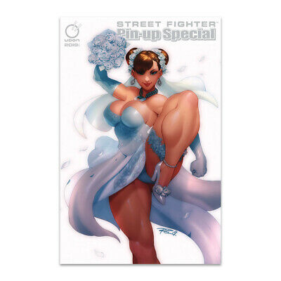 2019 Street Fighter Pin-Up Special Comic Exclusiv Chun-Li Wedding Cover New Mint