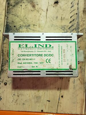 Elettronica Ind AS1040A - 15A / 24V Converter