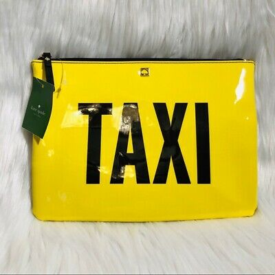 NWT Kate Spade New York Off Duty Taxi Clutch Bag
