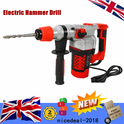 220V Electric Hammer Pick Drill Impact Draft Demolition Concrete Breaker Hammer