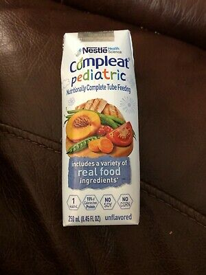 Nestle Compleat Pediatric Nutritionally Complete Tube Feeding - Unflavored