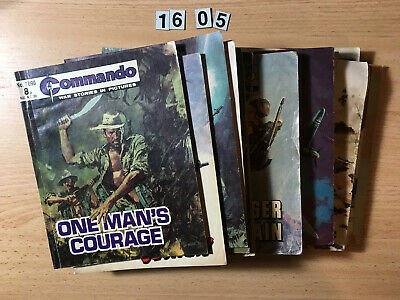 Bulk Lot of 15 x Commando Comics from the early 1000's