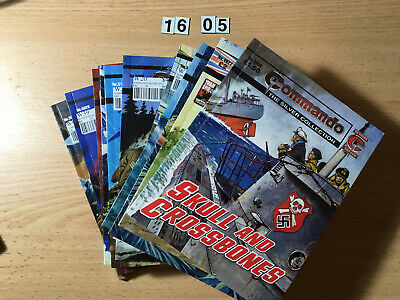 Lot of 12 x Commando Comics Mostly Gold & Silver Collection 5000's. VG Cond.