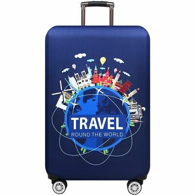 Suitcase Luggage Protective Dust Cover Bag Cartoon Design Travel Accessories New
