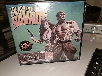 Radio Archives ADVENTURES OF DOC SAVAGE two audio dramas on CD RARE OOP!