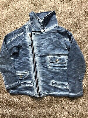Next Girl Jersey Denim Look Jacket Age 7 Years