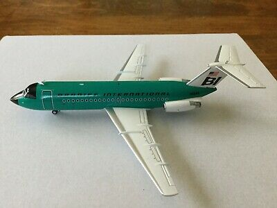 JCWings  Braniff  BAC One-11  N1545  JC2186  1:200 Scale  (Inflight Gemini)