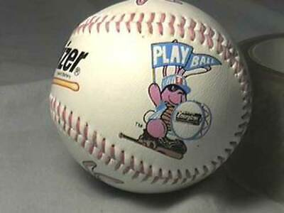 Energizer Battery Rabbit Bunny Logo Promo Baseball Ball 1990's